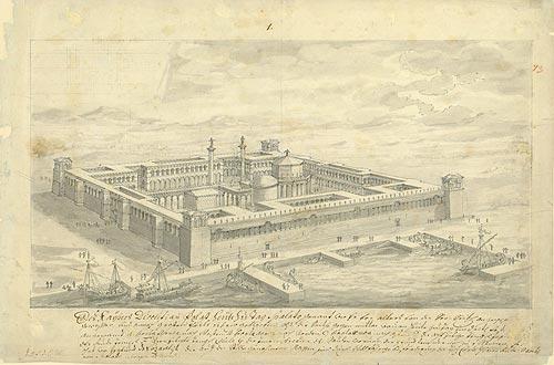 Dioklecijanova palača / Fischer von Erlach