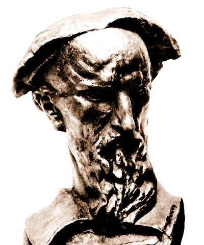 Marko Marulić / Ivan Meštrović (1924.), lijevana bronca // Muzej Grada Splita